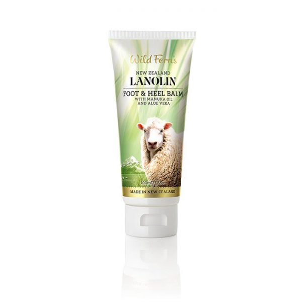 Lanolin Foot & Heel Balm with Manuka Oil and Aloe Vera