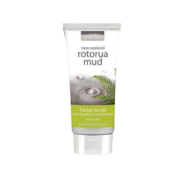 Rotorua Mud Facial Scrub with Grapefruit & Calendula