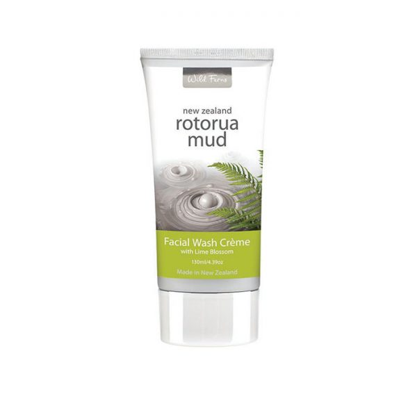 Rotorua Mud Facial Wash Crème with Lime Blossom