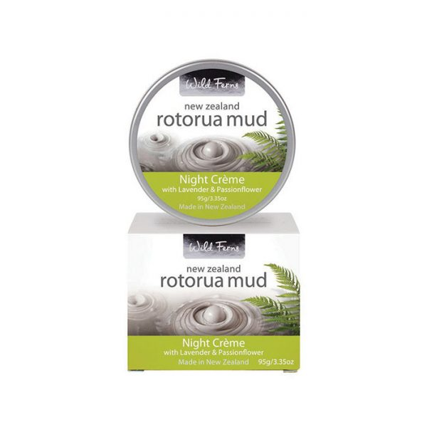 Rotorua Mud Night Crème with Lavender & Passionflower