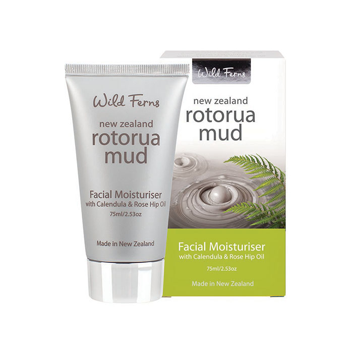 Rotorua Mud Facial Moisturiser with Calendula & Rose Hip Oil