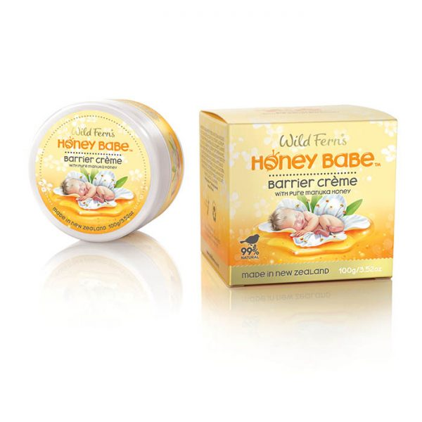 Honey Babe Barrier Crème with pure Manuka Honey